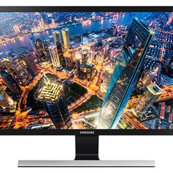 "Samsung Simple LED 23.6"" Monitor with High Glossy Black Finish"