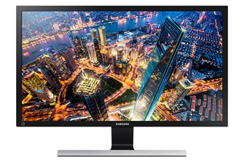 """Samsung Simple LED 23.6"""" Monitor with High Glossy Black Finish"""