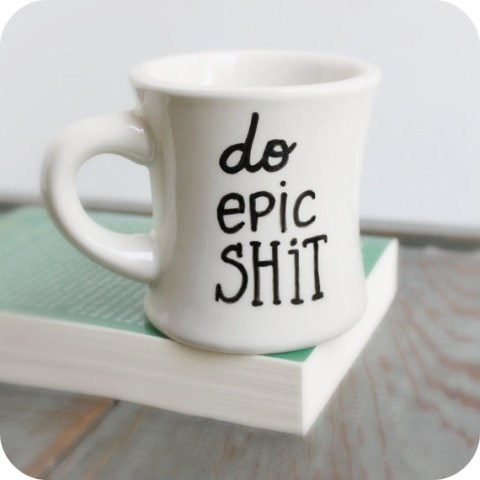 Do Epic Shit cup