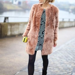 Longline Lux Faux Fur Coat