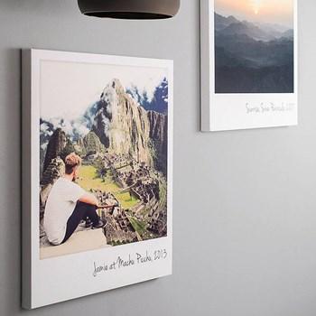 Giant Polaroid Canvas Print