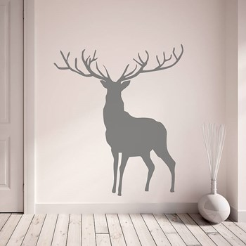 Stag And Deer Vinyl Wall Stickers