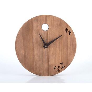 Clock The bird has left the clock