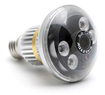 Mini Gadgets HCBulb LED and Night Vision Light Bulb Camera