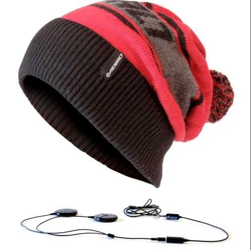 Beanie Built-in Headphones