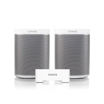 Sonos 2X PLAY:1 + BRIDGE