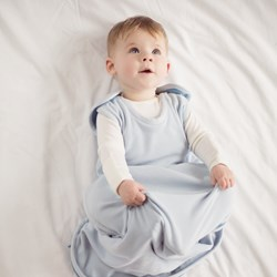 Merino Baby & Toddler Sleep Bag - Sky Blue