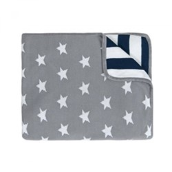 Grey Star Blanket