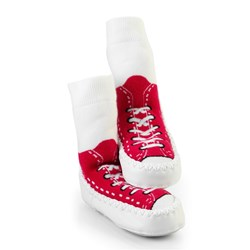 Mocc Ons Sneaker - Red