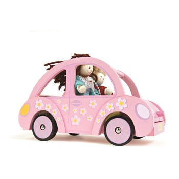 Sophie's Car - wooden dolls car by Le Toy Van